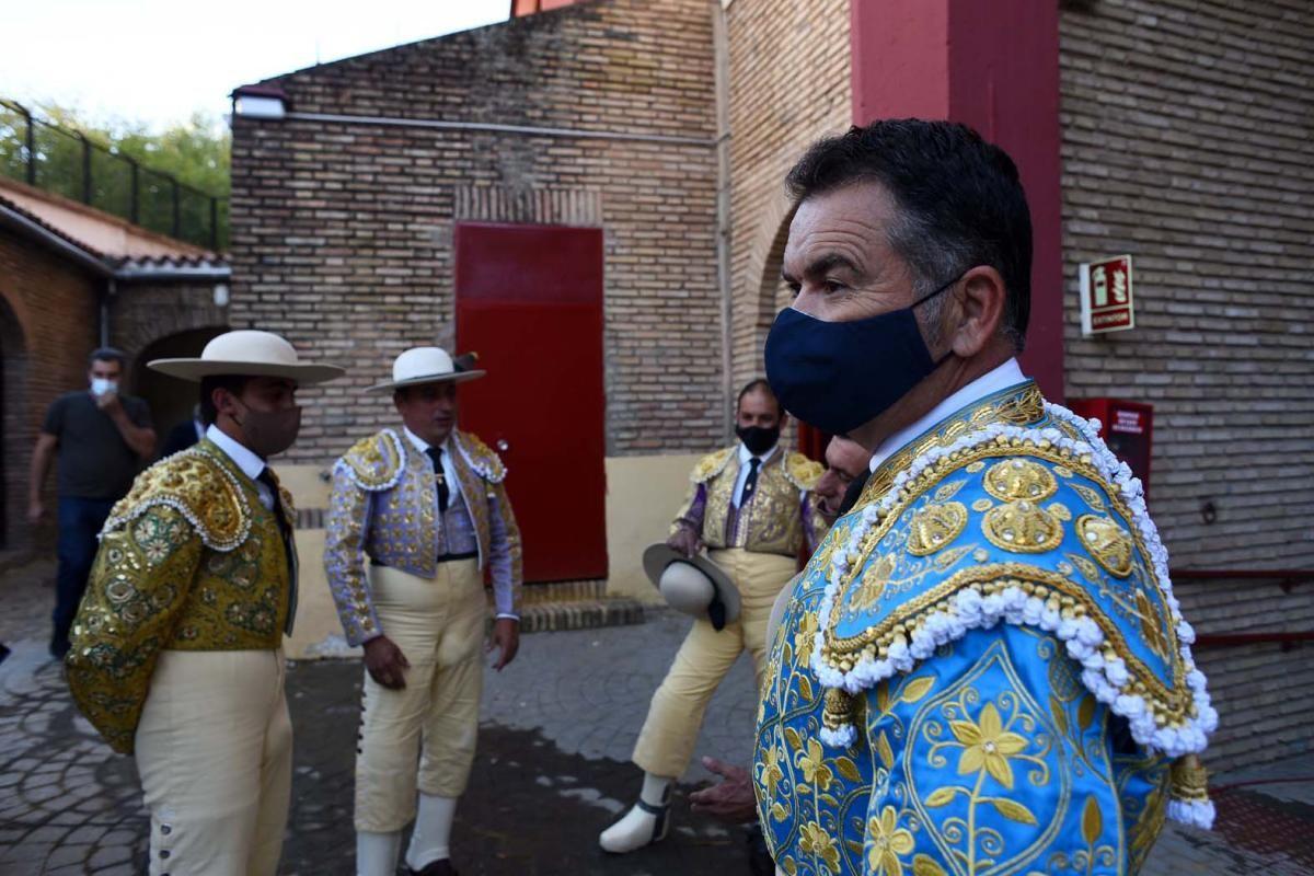 Morante y Juan Ortega en Los Califas
