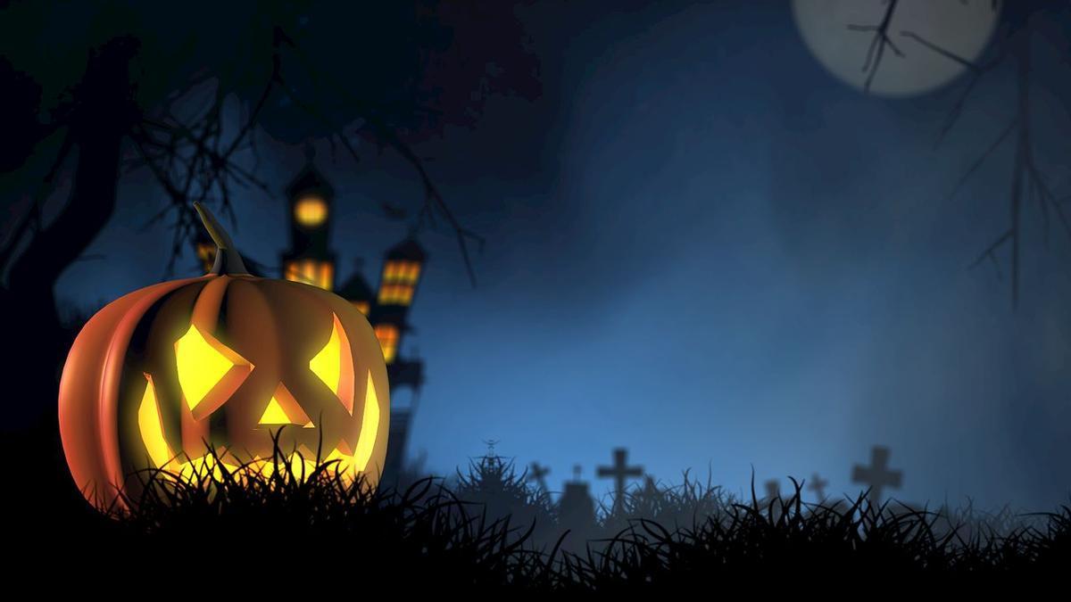 Decoración de casas para Halloween.
