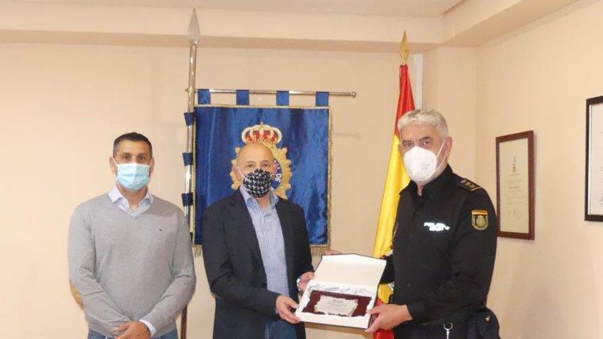 Reconocimiento a la Policía de Benidorm por su lucha contra la piratería industrial
