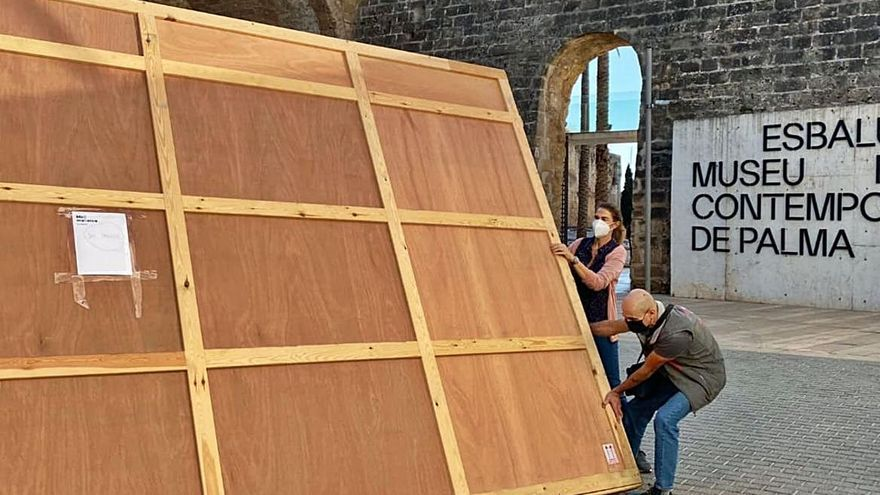 Dos 'mirós' se mudan  de museo: van a Es Baluard por las obras en Cala Major