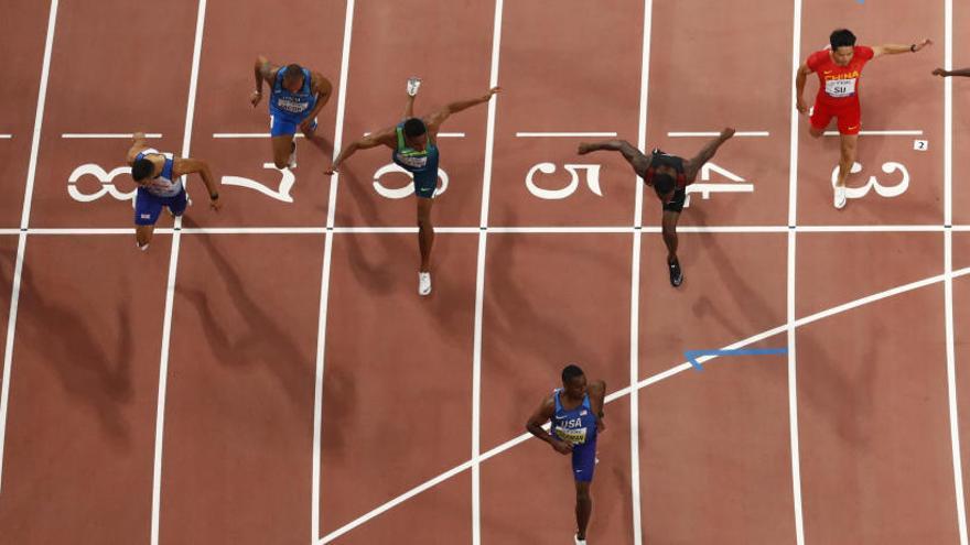 Coleman, nuevo campeón del mundo en los 100 metros