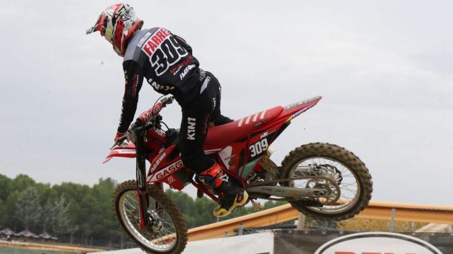 El pilot balsarenyenc Guillem Farrés es corona campió estatal de motocròs MX125