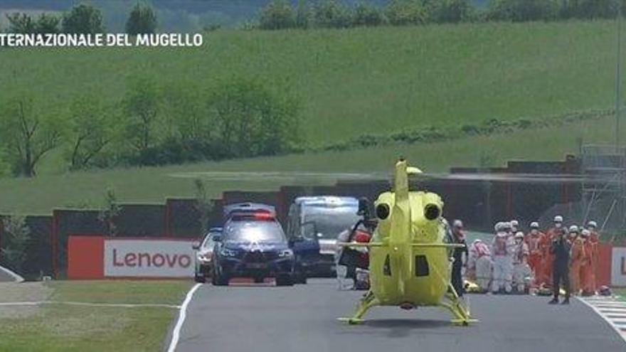 Fallece el piloto Dupasquier tras su grave accidente en Moto3