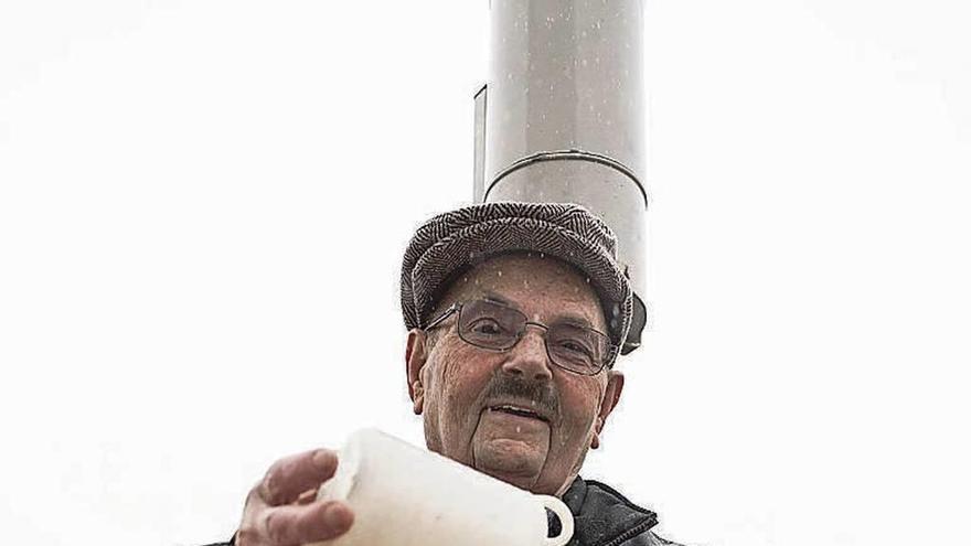 Julio Janeiro Lamas, el hombre que cuenta la lluvia