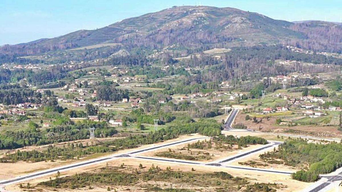 Primera fase de urbanización de la Plisan.