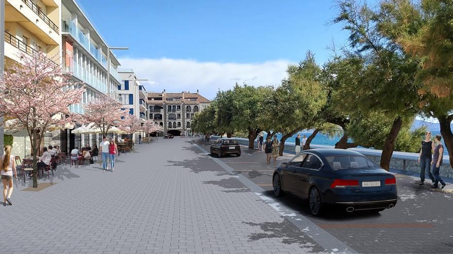 L'Escala allargarà la renovació del front marítim pel passeig Lluís Albert
