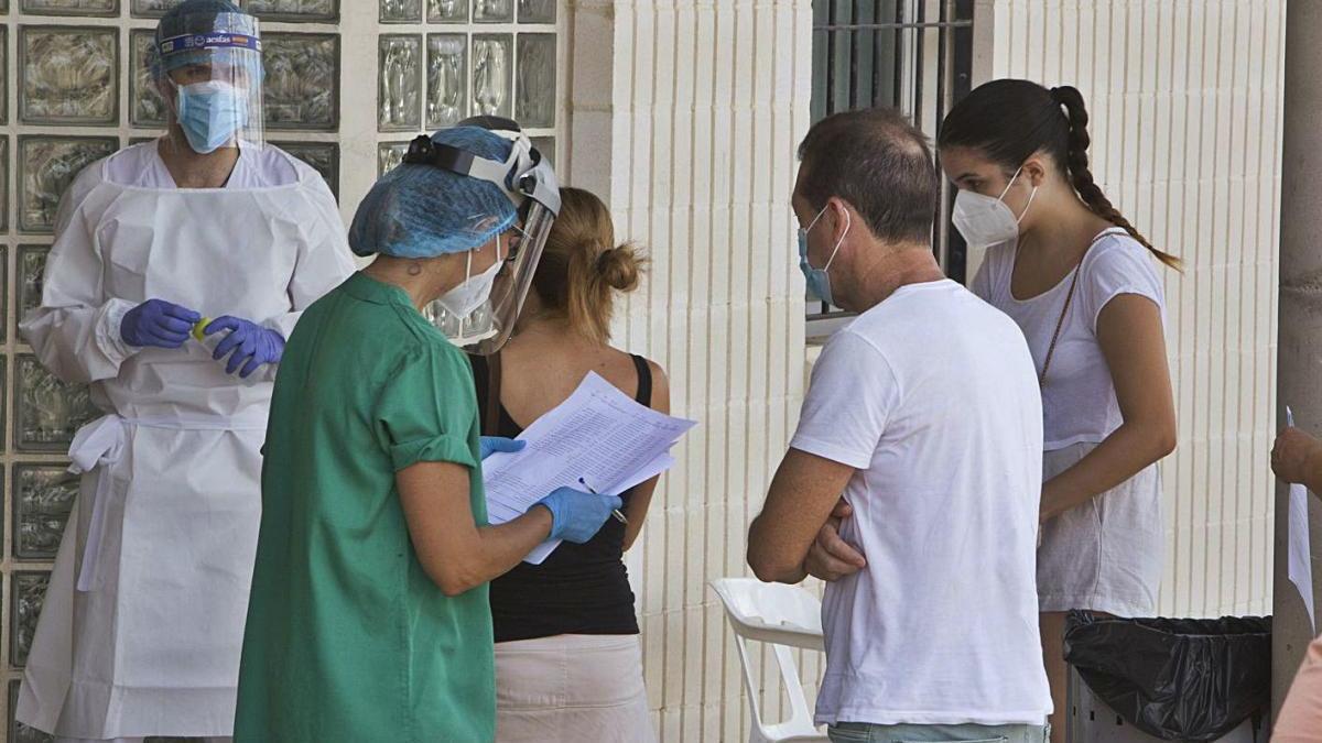 Xàtiva-Ontinyent se  aproxima  a  un acumulado  de  un millar  de  contagios