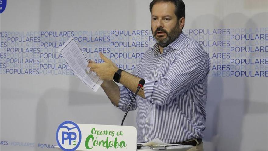El PP denuncia la distancia entre lo prometido y lo ejecutado en los presupuestos andaluces
