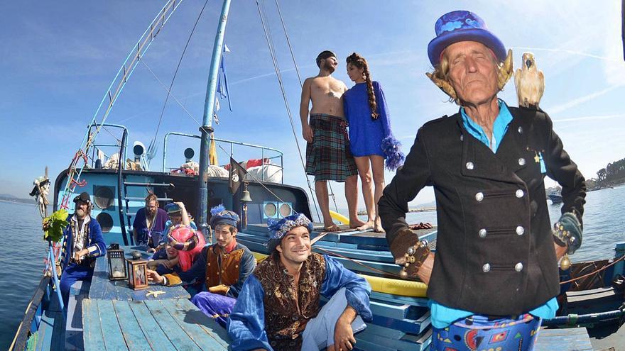 """El """"barco dos tolos"""" ya nunca más atracará en A Illa de Arousa"""