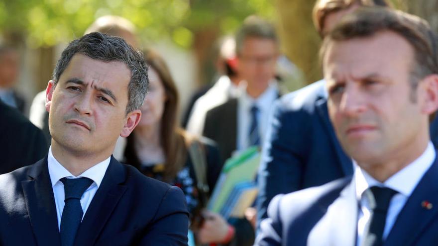 Once detenidos en una protesta contra el ministro del Interior francés, investigado por violación