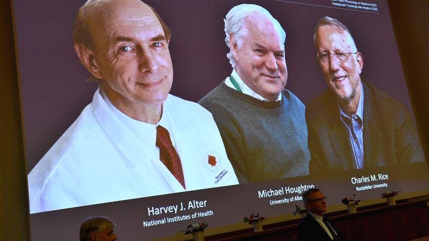 Los descubridores del virus de la hepatitis C obtienen el Premio Nobel de Medicina