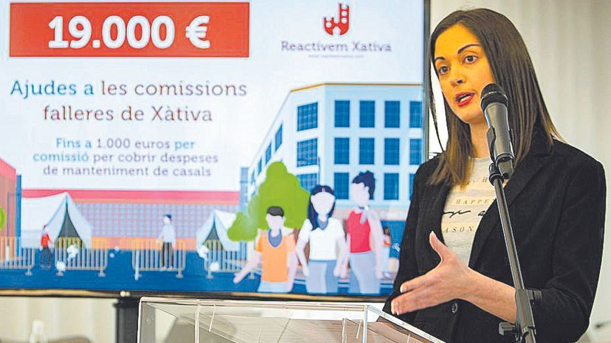Xàtiva subvencionará con 1000 € el mantenimiento de los casales falleros de la ciudad