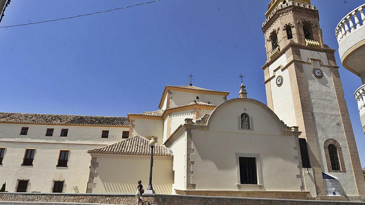 Santuario de la Virgen de las Huertas en Lorca.   JUAN CABALLERO