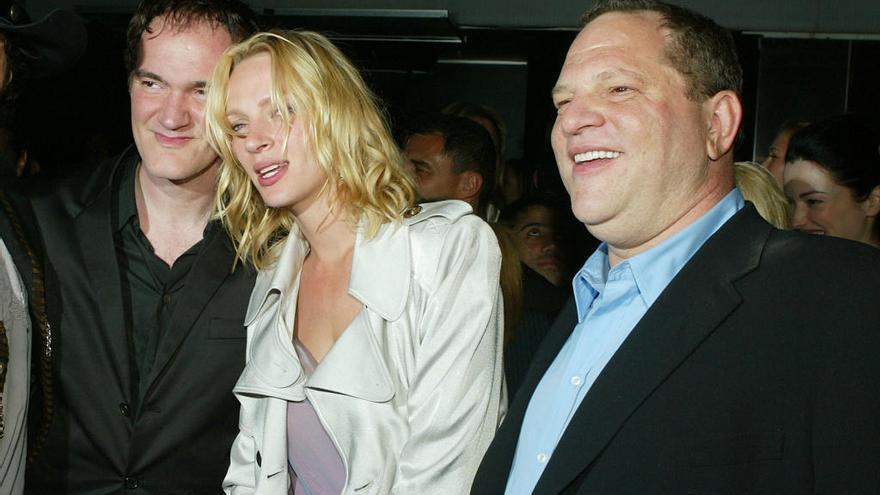 Uma Thurman acusa a Harvey Weinstein de agresión