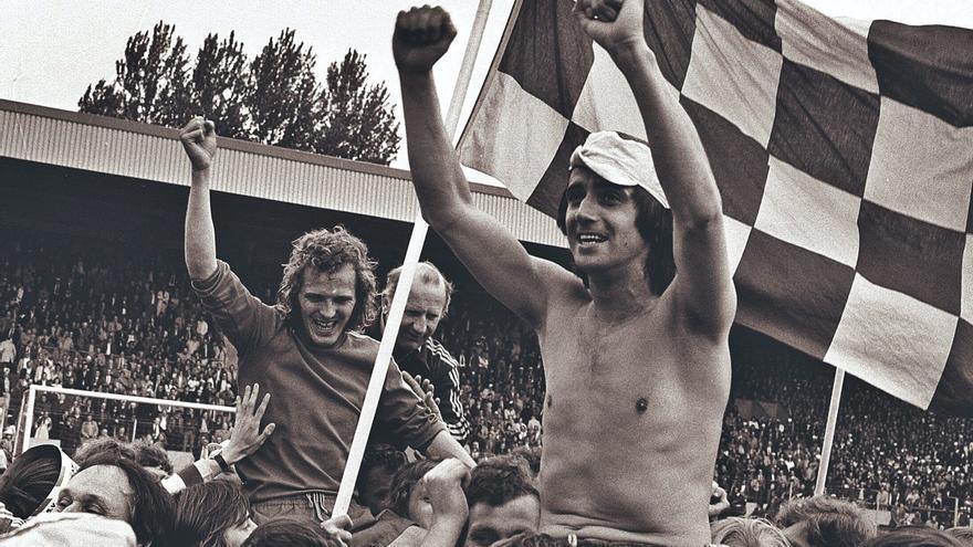 Van der Kuijlen, de los goles  a la ira de Johan Cruyff