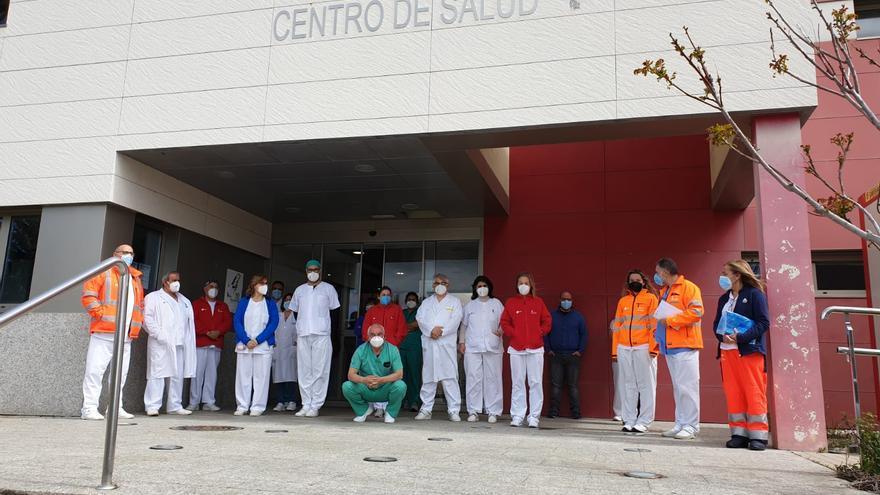 Sanitarios de Sanabria recuerdan a sus compañeros fallecidos por el COVID