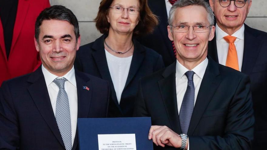 Macedonia del Norte ya es nuevo miembro de la OTAN