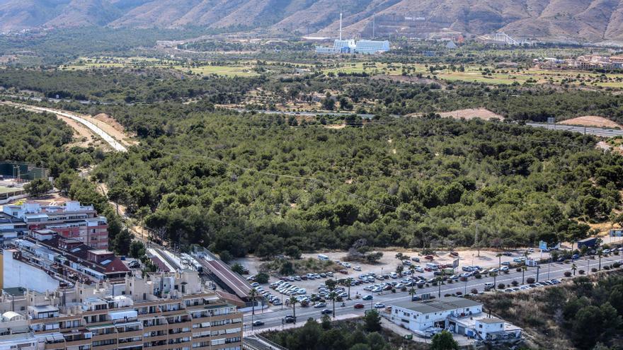 Benidorm pagará 3 millones de euros más por la expropiación de los terrenos de El Moralet