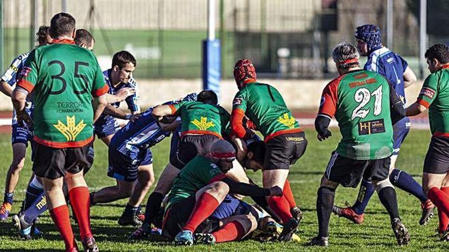 El Zamora RC se coloca sexto tras vencer con claridad al Rugby Ávila Club (26-0)