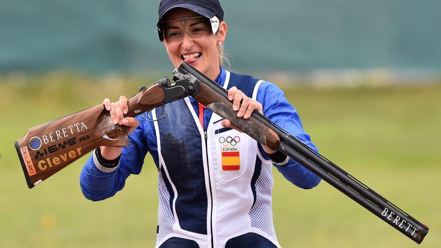 La tiradora Fátima Gálvez logra el bronce con España en la Copa del Mundo de Lonato