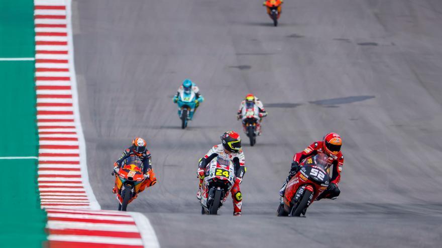 Sigue en directo la carrera del GP de Emilia Romaña de Moto3