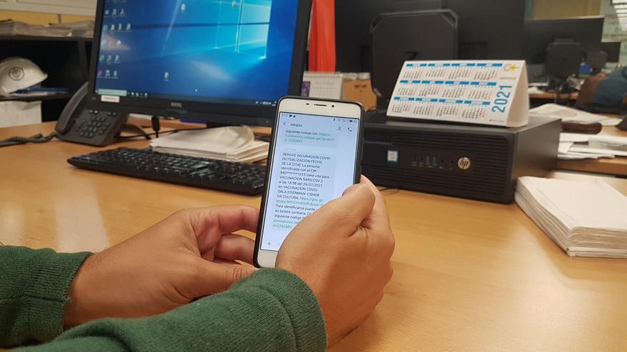 El Sergas cambia el teléfono para las citas de la vacunación