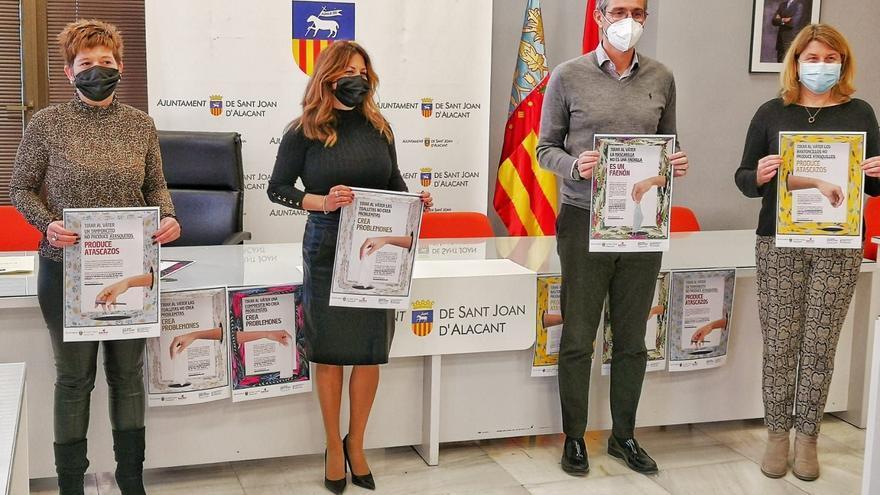 Sant Joan gasta más de 100.000 euros en desatascar las toallitas que se tiran al váter