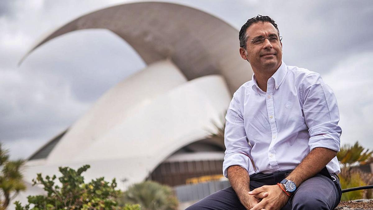 Carlos Tarife, portavoz adjunto del PP en Santa Cruz y concejal de Urbanismo.