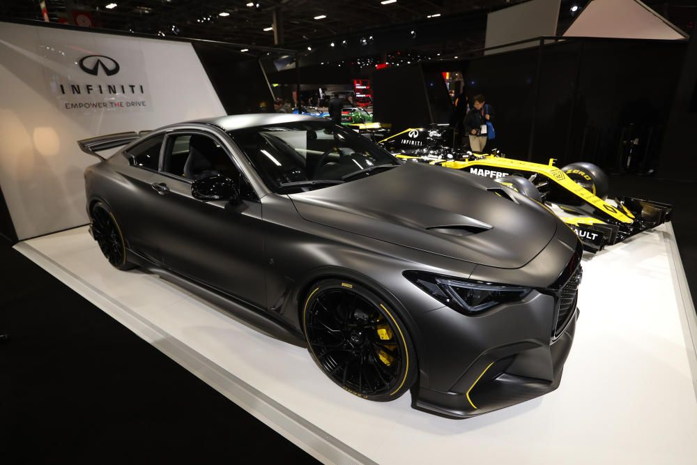 El modelo Infiniti Project Black S.