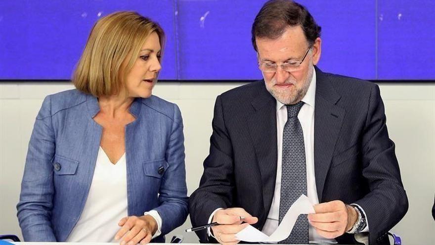 Rajoy suscribe todas las palabras de Cospedal cuando pidió perdón por Yak-42