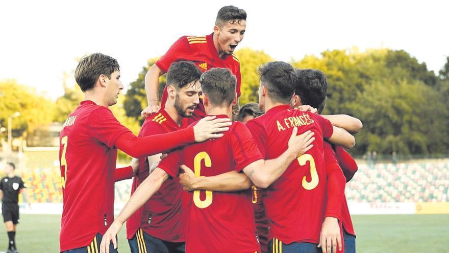 Victoria sin brillo de la selección española sub-21 de Fer Niño ante Lituania