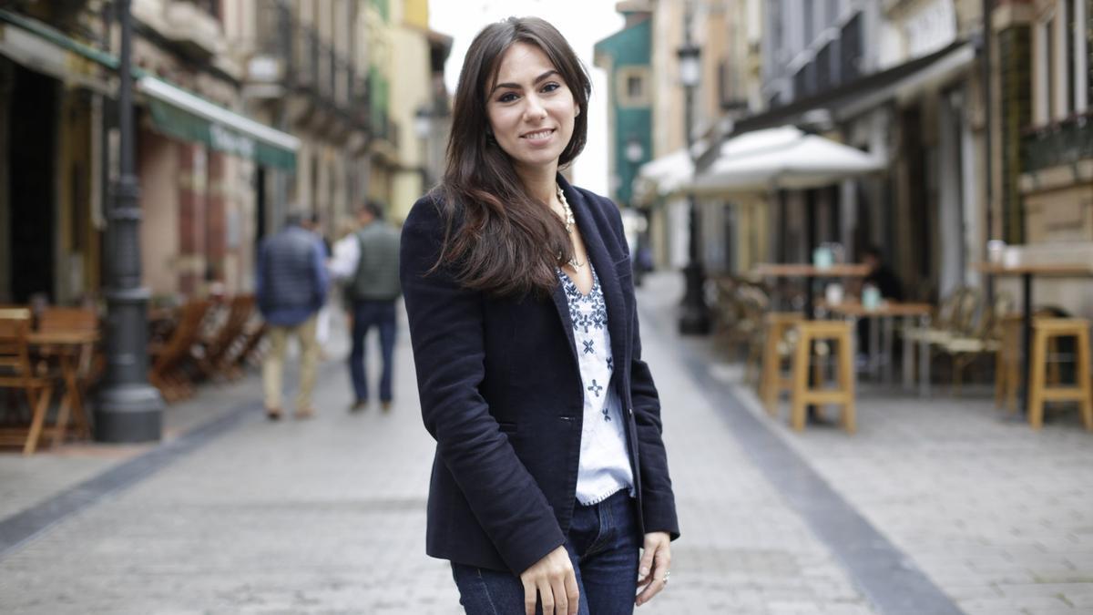 Silvia Argüelles, presidenta de Amigos del País