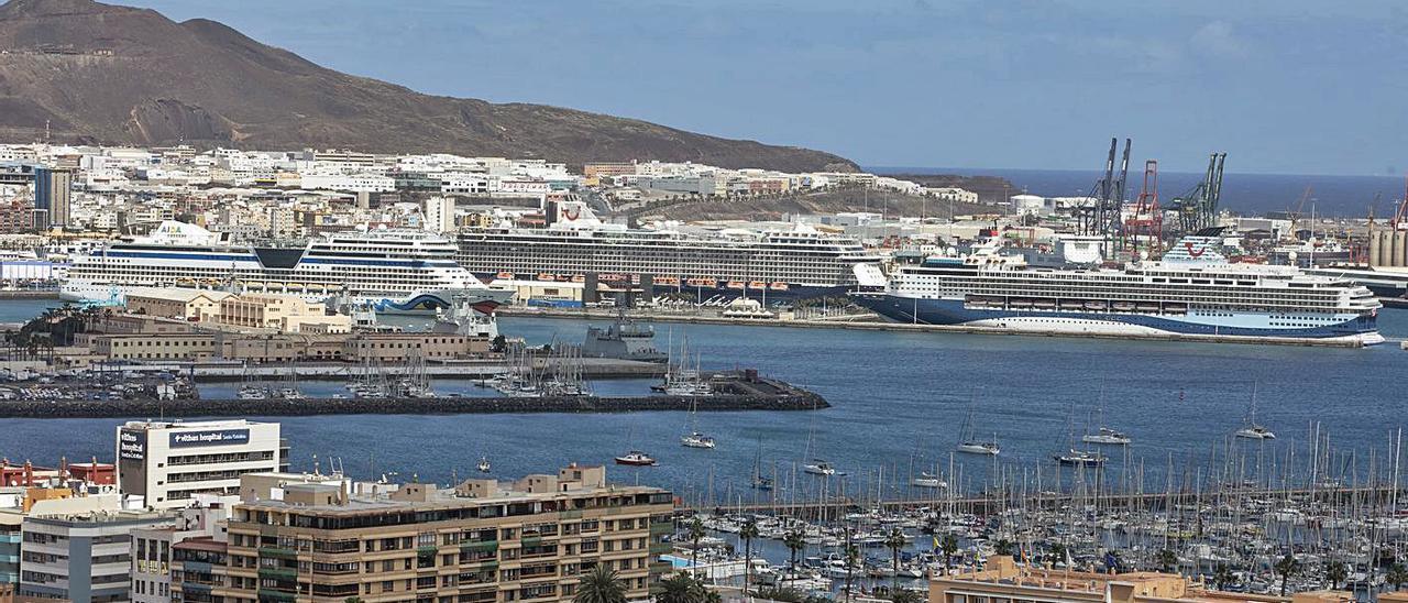 Imagen del Puerto de Las Palmas.
