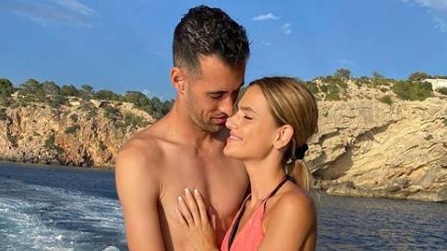 Los futbolistas cargan las pilas de cara a la Champions en Ibiza