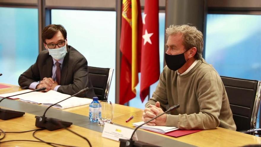 Reunión del Grupo Covid-19 entre Sanidad y la Comunidad de Madrid