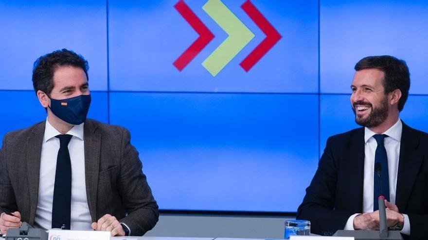 """García Egea: """"Iglesias tiene que nacer siete veces para hacer lo que ha hecho Juan Carlos I por la democracia"""""""