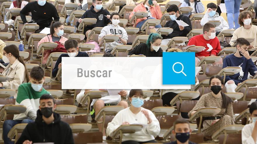 Buscador notas selectividad en Galicia 2021: consulta tu nota de la ABAU