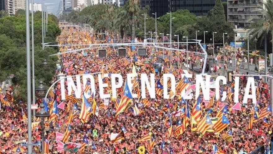 Catalunya celebra la Diada amb  la vista posada al Tribunal Suprem