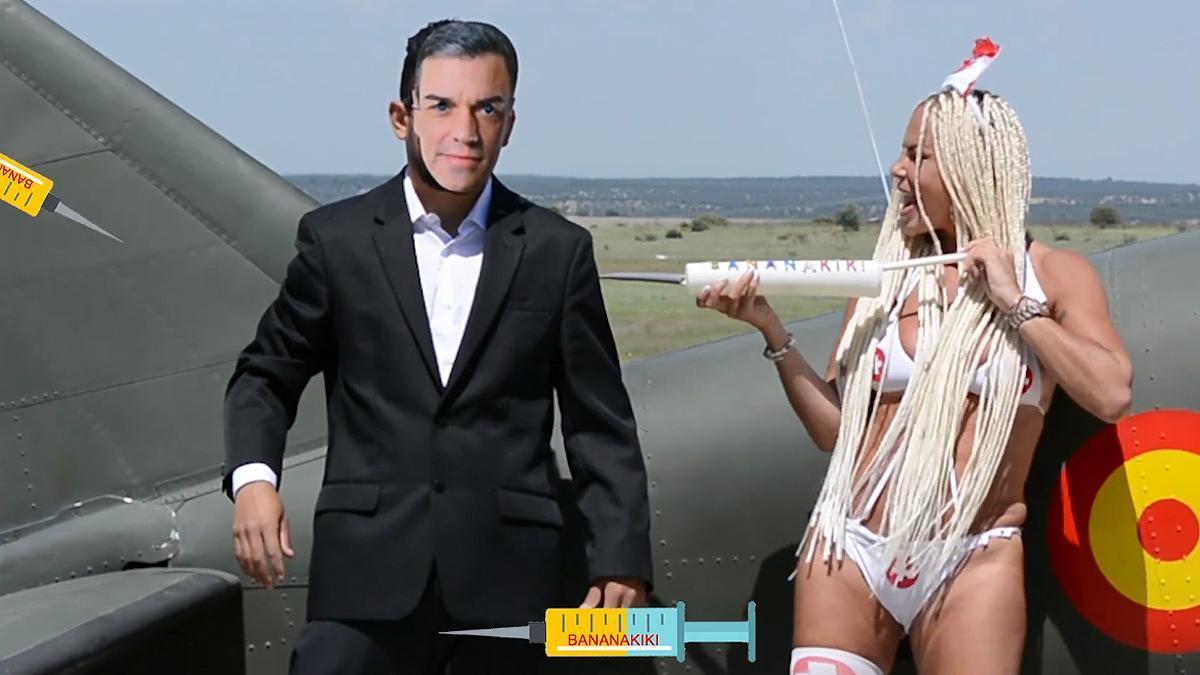 Leticia Sabater, en su nuevo videoclip.