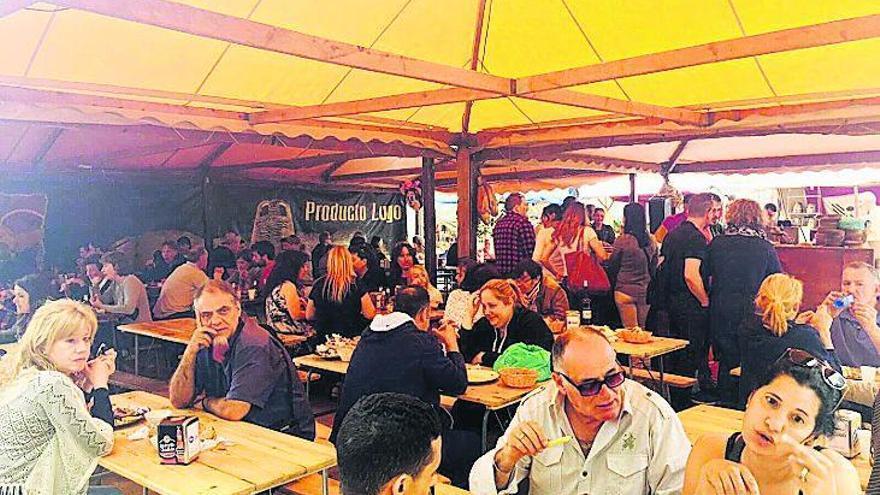 Oviedo acoge una Feria con lo mejor de  la gastronomía gallega