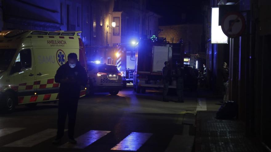 Una gran explosión en una lavandería en Algaida deja tres heridos y graves daños