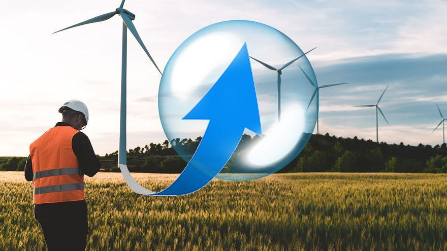 La burbuja eólica se dispara: Galicia suma 10.000 megavatios en proyectos
