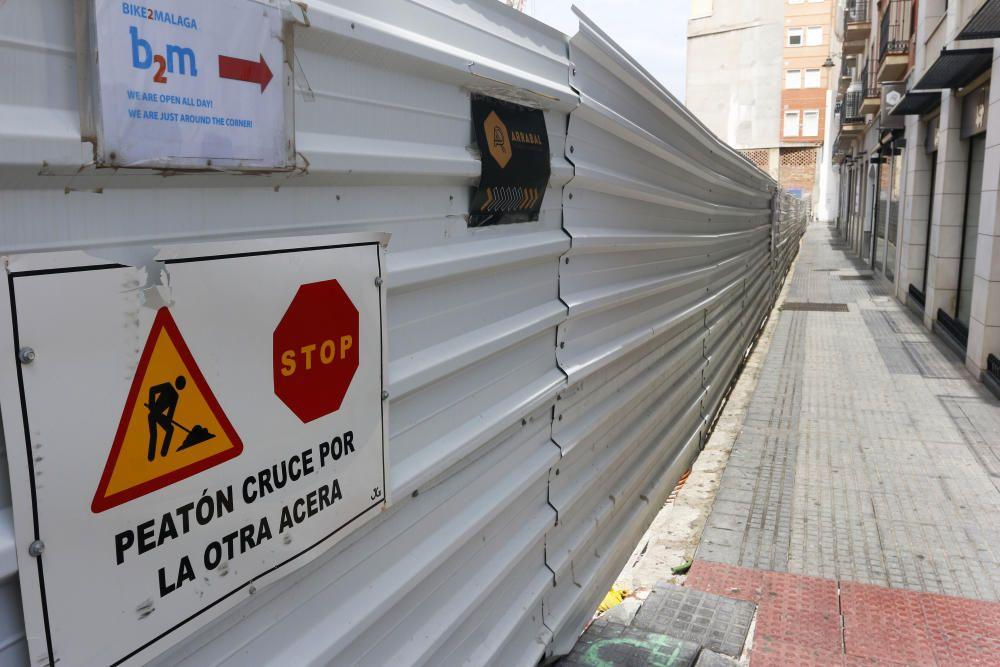 Obras paradas en Málaga