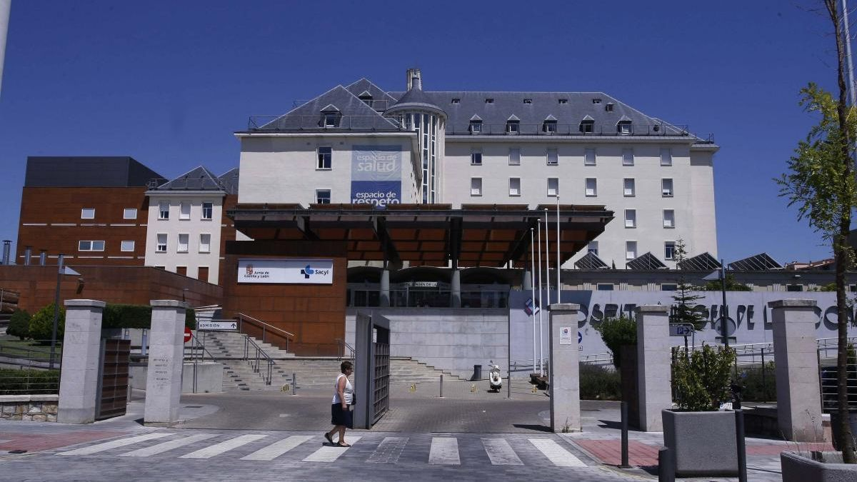 Sigue la última hora del coronavirus en Zamora. En la imagen, Hospital Virgen de la Concha.