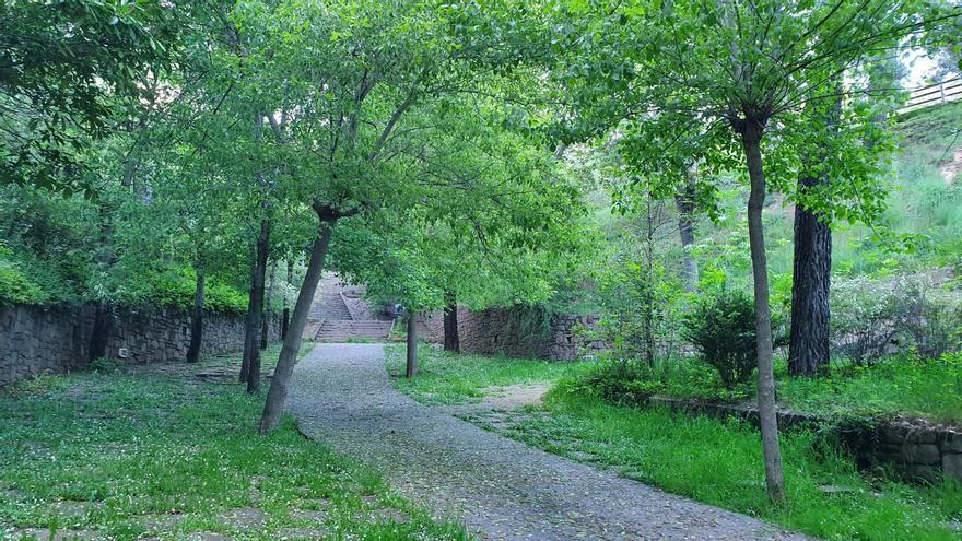 Denuncien 20 persones per trencar el cadenat del Parc del Lledó de Berga