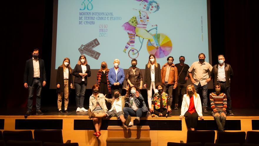A Mostra de Teatro de Cangas recibirá o Premio Marisa Soto