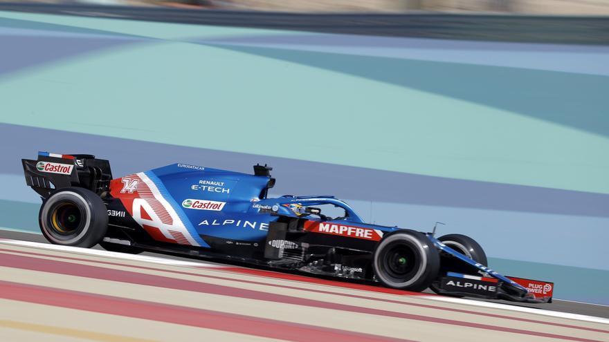 Alonso y Sainz saldrán 9 y 8 en el GP Bahréin