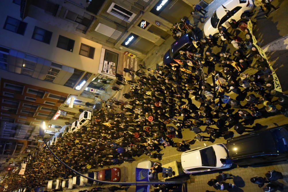 Manifestació del 21-F a Manresa