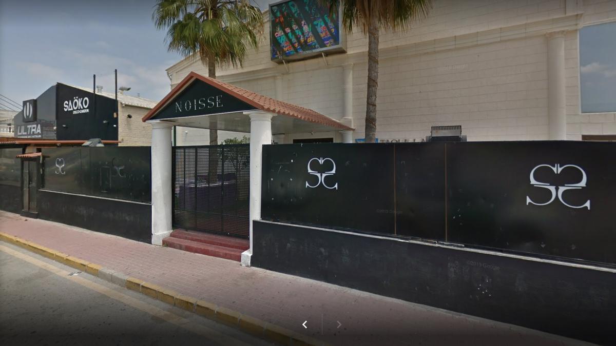 Discoteca Noisse de Torrevieja, donde se ha detectado el brote de covid