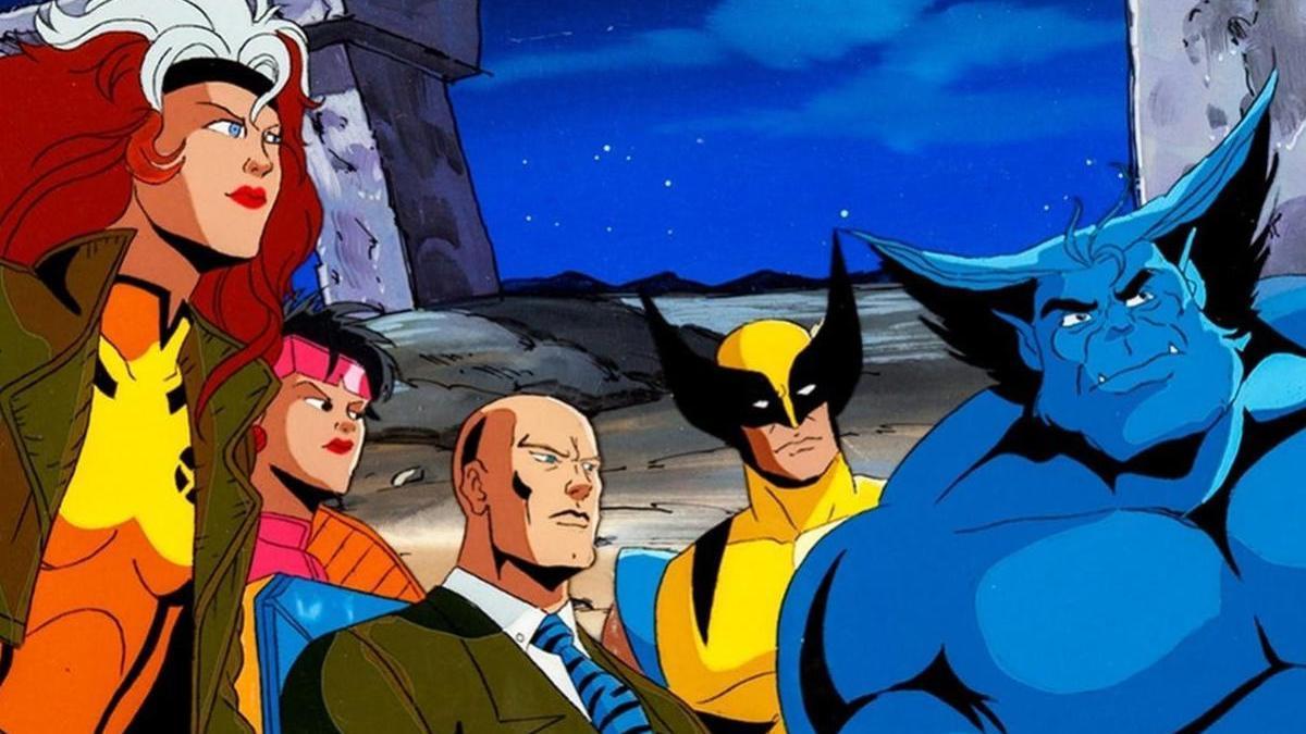 La serie de animación X-Men.